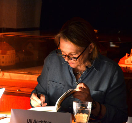 Uli Aechtner im Sprudelhof Bad Nauheim, Foto: Petra Ihm-Fahle