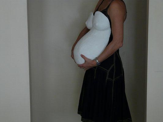 `PlasterArt´ pregnant belly
