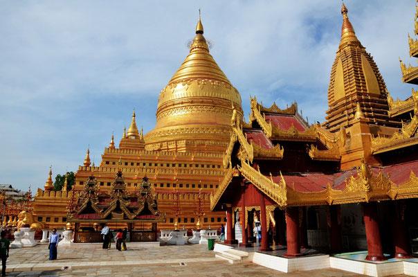 Swezigon Pagode Myanmar