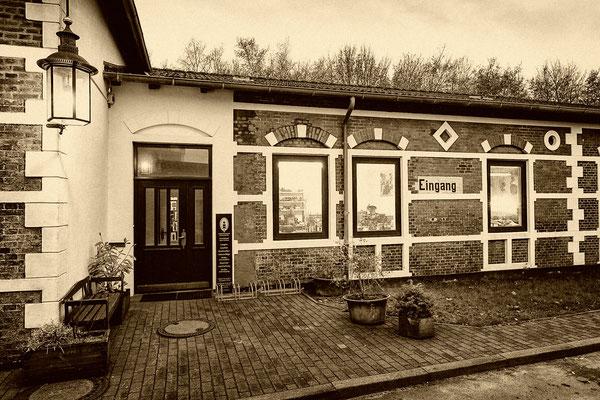 Werkstatt Englischer Bahnhof außen