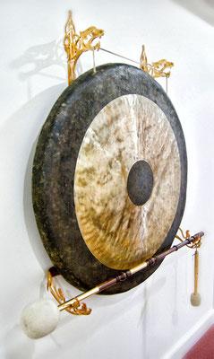 Halterung für asiatischen Gong