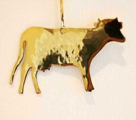 Fenstermotiv Kuh