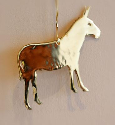 Fenstermotiv Esel