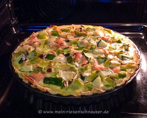Gemüse-Quiche vom Acker ...