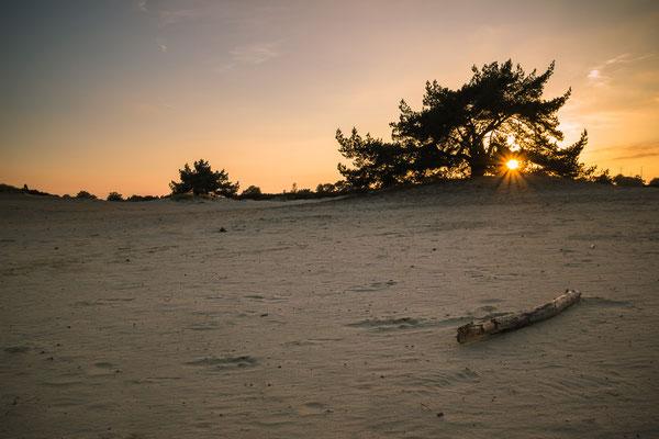 zonsondergang Aekingerzand