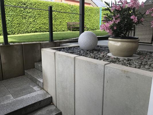 Terrasse Zugang von der Wohnung