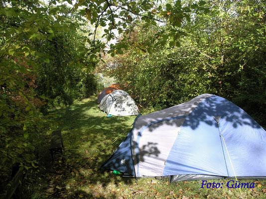 P1010017 Foto: Güma- Es gab mehrere Stellen, wo man sein Zelt aufstellen konnte