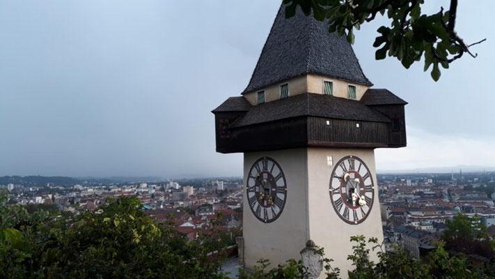 Tour 2  Grazer Uhrturm