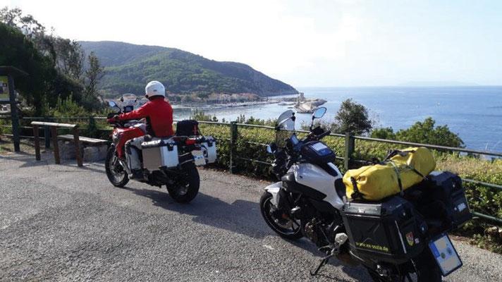Tour  4 Bild 11 Elba - Blick auf Marciana Marina