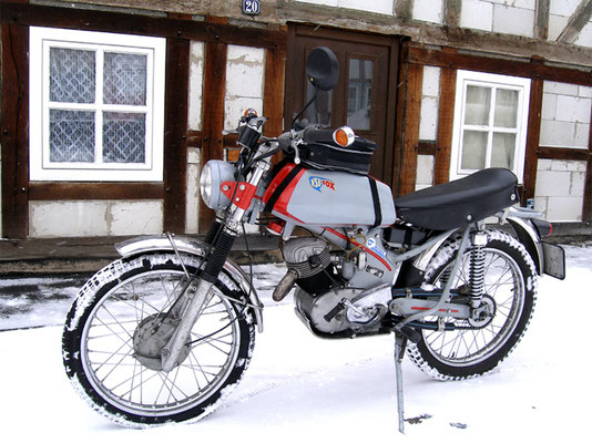 NSU-Geländefox im Wintereinsatz
