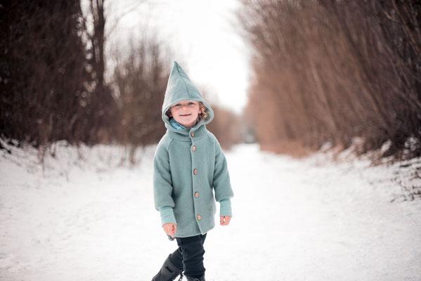 Wintershooting Kinderbilder im Schnee