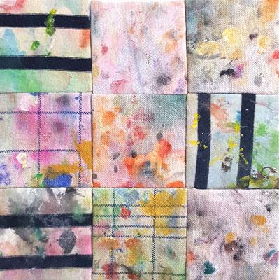 Komposition I   4.07.2020   16x16 cm