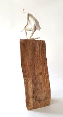 kniender Engel - Figur 10 cm/ gesamt40 cm