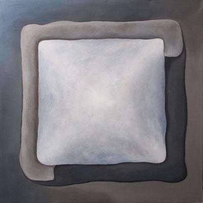 Grau 100 x 100 cm