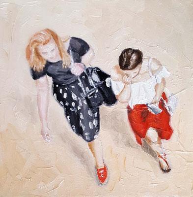 Red Skirt  20 x 20  14052018