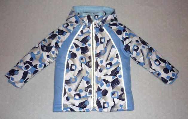 зимняя мембранная куртка для мальчика
