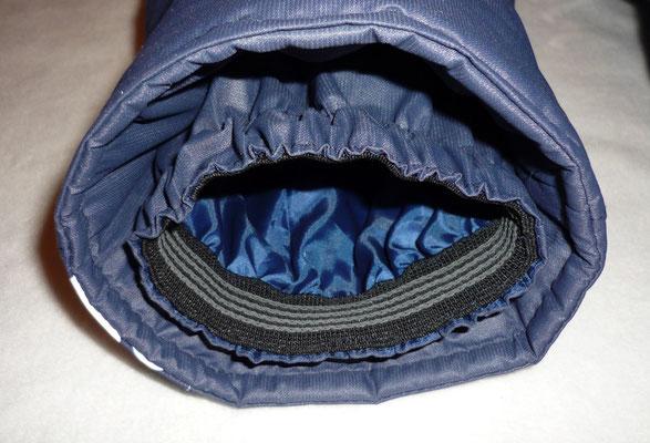 Нескользящая резинка по низу штанин