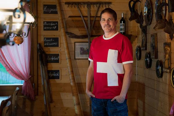 T-Shirt Swiss Cross