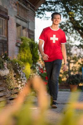 Schweizer kreuz Original T-Shirt