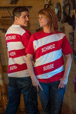 T-Shirt Schweiz suisse, Svizrra Switzerland