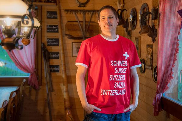 T-Shirt Schweizer pass