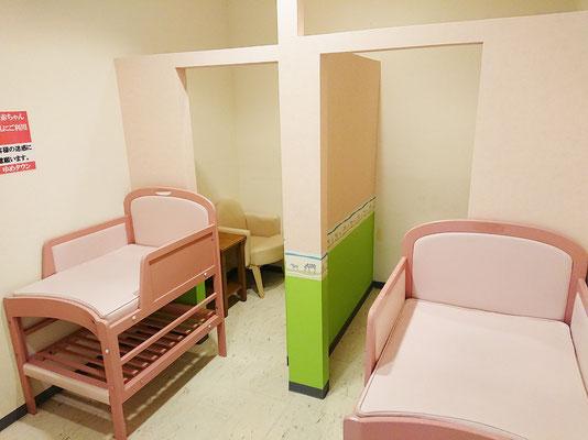 2階 授乳室全景