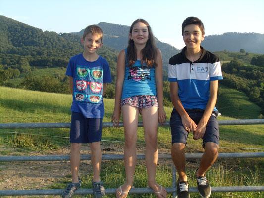 Léandre, Pauline et Antoine