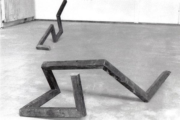 1991 - Houtschetsen