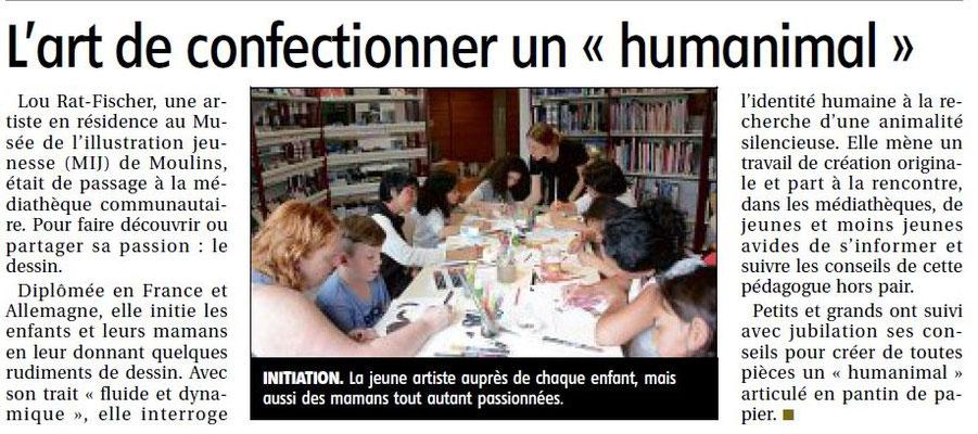 Le journal La Montagne_Vichy