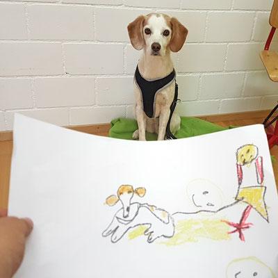 Tiergestützte Therapie, Praxis für Ergotherapie Julie Dehay, Stein am Rhein