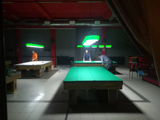 Allestimento sala presso la Vecchia Stazione, via Montesanto 20 Forlì