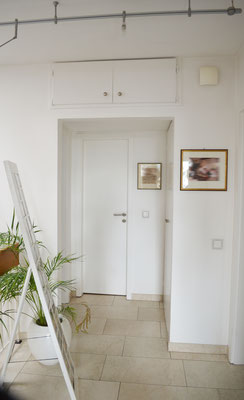 Immobilie in Wülfrath, Bungalow, Reihenmittelhaus, Flur, Blick zum Gäste WC