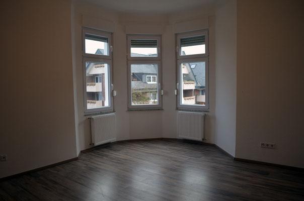 Immobilie in Ennepetal, Maisonettewohnung, Eigentumswohnung, Wohnraum, Esszimmer, Erker