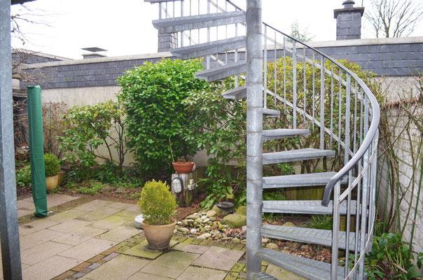 Immobilie in Wülfrath, Bungalow, Reihenmittelhaus, Garten, Wendeltreppe