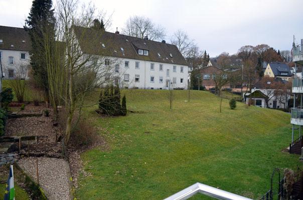 Immobilie in Ennepetal, Maisonettewohnung, Eigentumswohnung, Ausblick vom Balkon