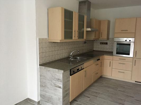 Immobilie in Wuppertal Elberfeld, Eigentumswohnung, Einbauküche, offene Küche
