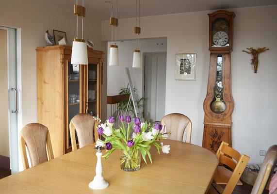Immobilie in Wülfrath, Bungalow, Reihenmittelhaus, Esszimmer, Blick in den Flur