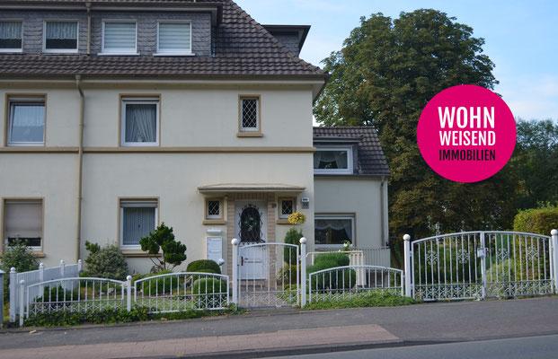 Immobilie, Haus, Doppelhaus, Velbert, Neviges, Hausansicht Strasse