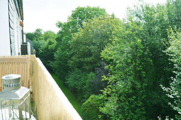 Immobilie, Eigentumswohnung, Wuppertal, Barmen, Hatzfeld, Ausblick vom Balkon