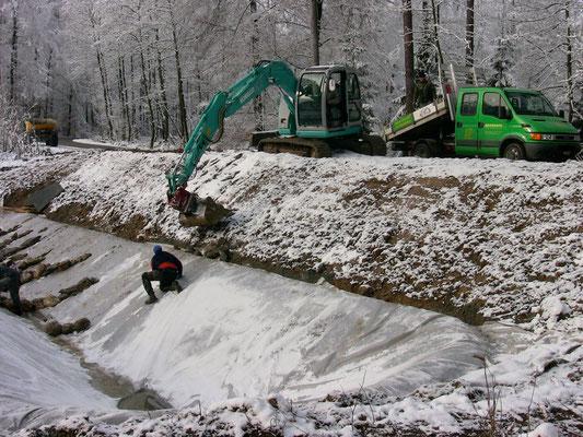 Bau eines Biotopes, Eberhard_Gartenbau_AG, 8302 Kloten
