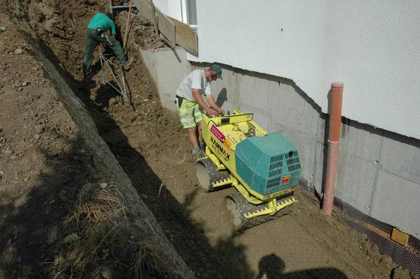 Auffüllarbeiten, Winkel ZH, Eberhard Gartenbau AG Kloten