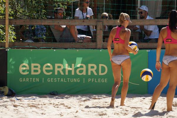 Eberhard Gartenbau AG an der Junior Beachtour Schweizermeisterschaft