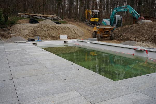 Swimmingpool, Kloten, Eberhard Gartenbau AG Kloten