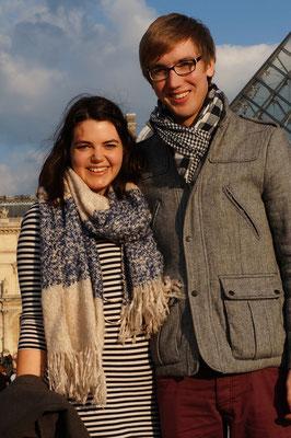 Mein Bruder mit seiner Freundin zu Besuch :)
