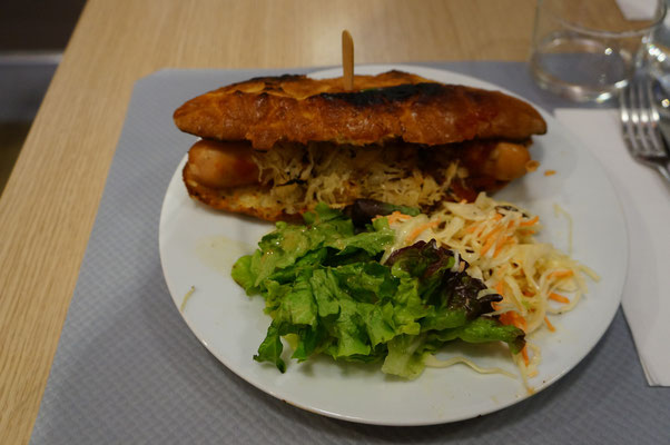 Mein Essen in Le Stube
