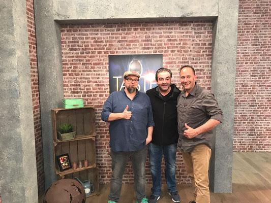 Michael Wankerl, Juan Armador und ich