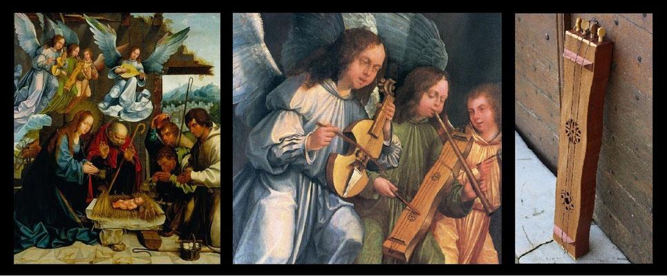 tambourin à cordes médiéval