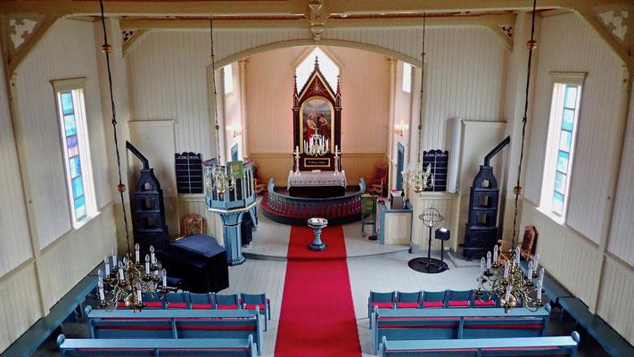 Altarrom i Austbygde kirke