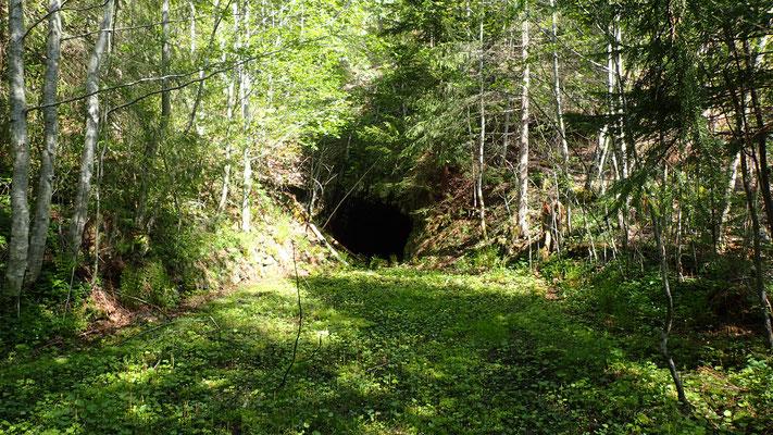 inngang Tinnsjø Kobbermine