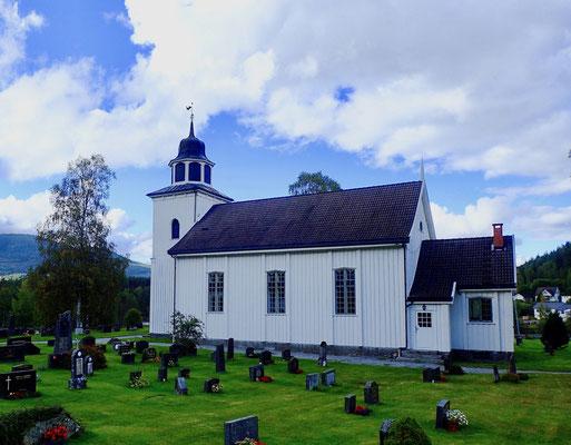 Gransherad kirke sommer